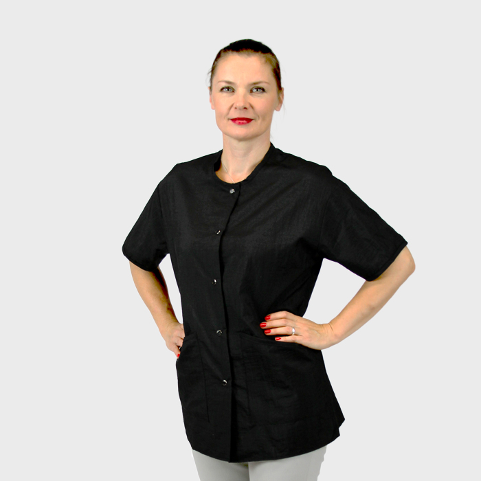 La Mode Estheticians Jacket Black