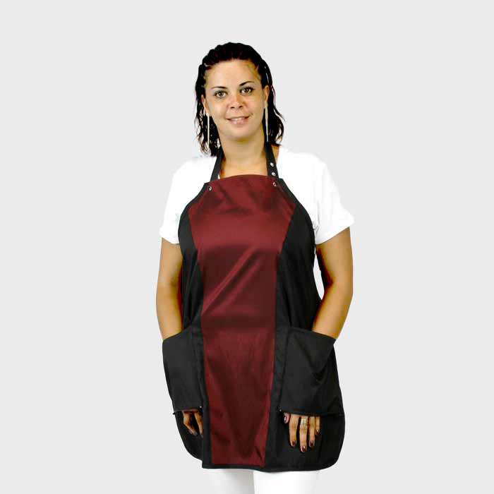 Limited Edition Princess Apron Black/Burgundy