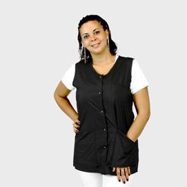 La Mode Vest Black