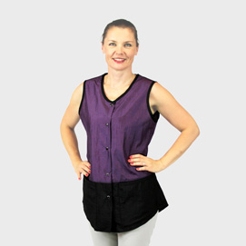 Limited Edition Vest Black/Plum