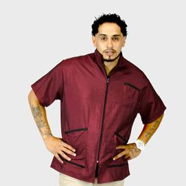 Barber Jacket Supreme Burgundy