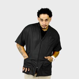 Barber Jacket Supreme Black