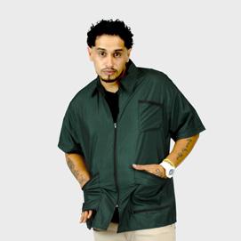 Barber Jacket Supreme Green