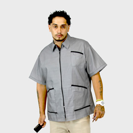 Barber Jacket Supreme Gray