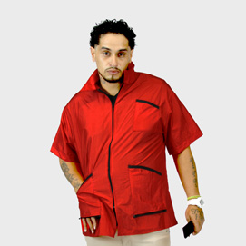 Barber Jacket Supreme Red